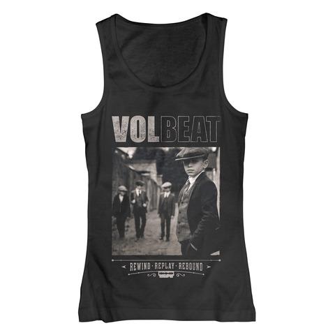 √Rewind Replay Rebound Cover von Volbeat - Girlie tank top jetzt im Volbeat Shop