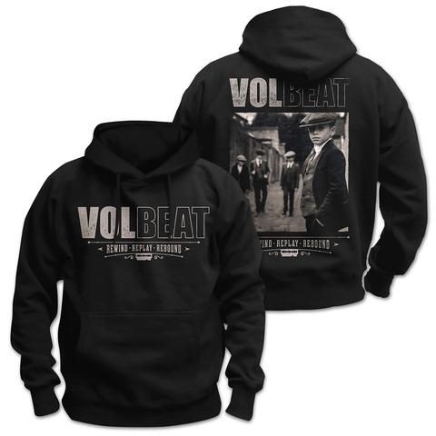 √Rewind Replay Rebound Cover von Volbeat - Hood sweater jetzt im Volbeat Shop
