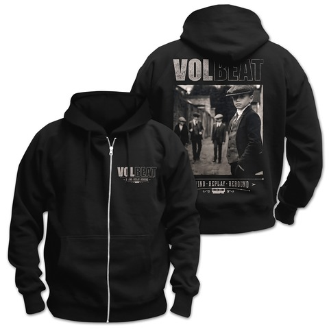 √Rewind Replay Rebound Cover von Volbeat - Hooded jacket jetzt im Volbeat Shop