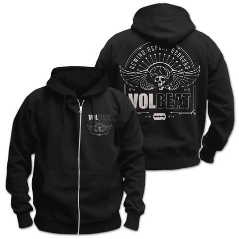 √Winged Frame von Volbeat - Hooded jacket jetzt im Volbeat Shop