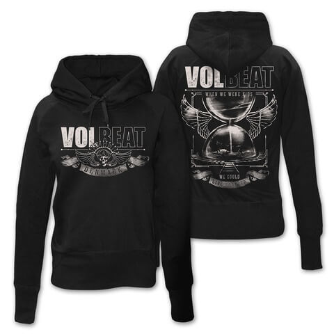 √Hour Glass von Volbeat - Girlie hooded sweater jetzt im Volbeat Shop