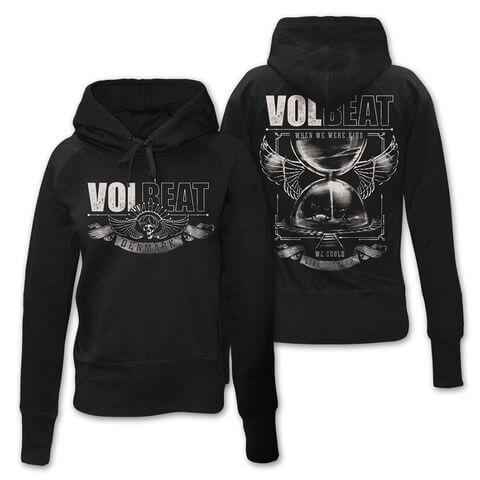 Hour Glass von Volbeat - Girlie Kapuzenpullover jetzt im Volbeat Shop