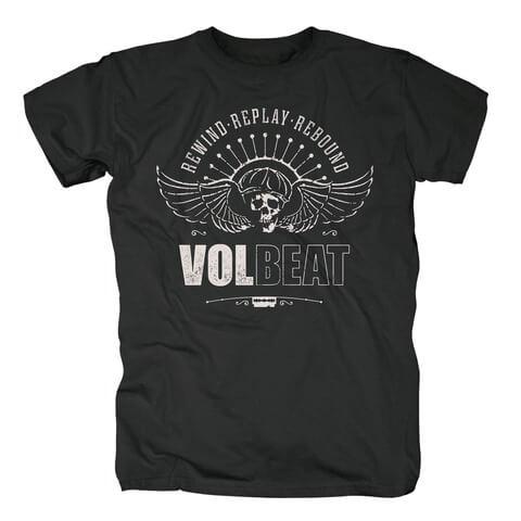 √RRR Skullwing von Volbeat - T-Shirt jetzt im Volbeat Shop