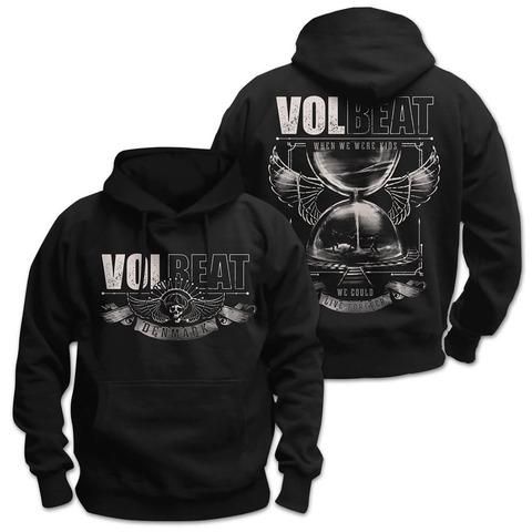√Hour Glass von Volbeat - Hood sweater jetzt im Volbeat Shop
