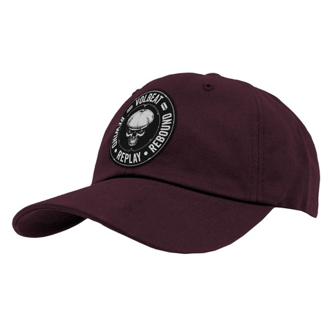 √Baseball Cap Patch von Volbeat - Cap jetzt im Volbeat Shop