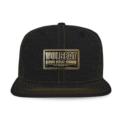 √Metal Badge von Volbeat - Cap jetzt im Volbeat Shop