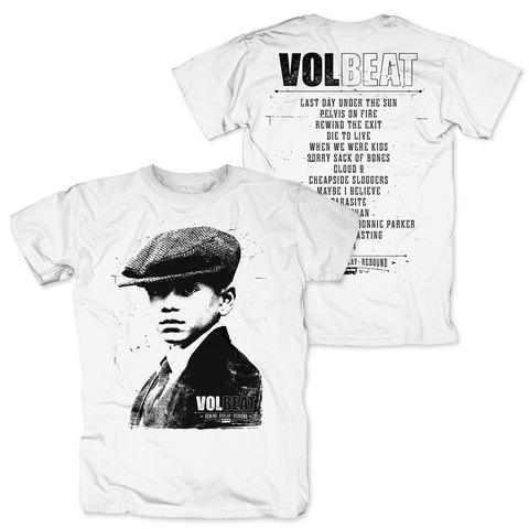 √RRR Tracklist von Volbeat - T-Shirt jetzt im Volbeat Shop