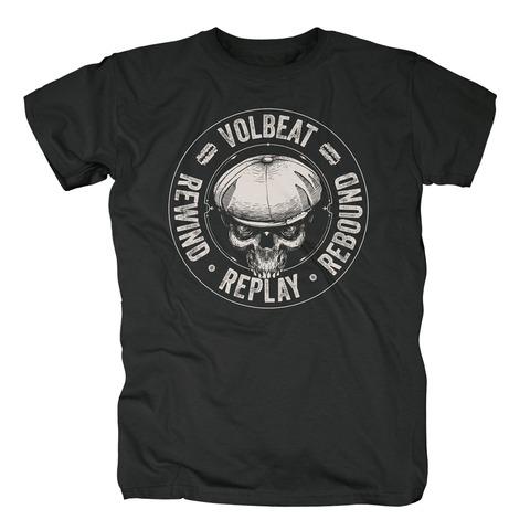√RRR Badge von Volbeat - T-Shirt jetzt im Volbeat Shop