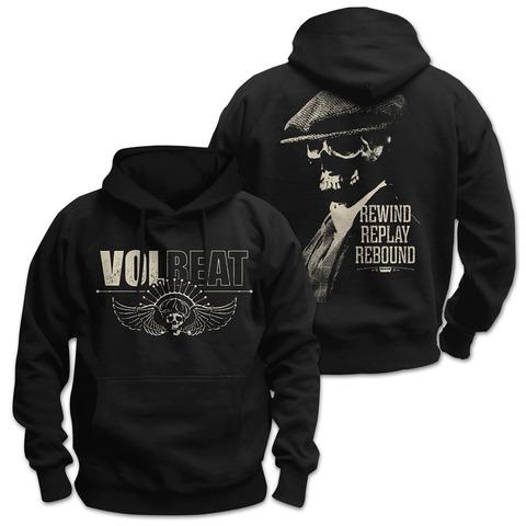 √Skull Face von Volbeat - Hood sweater jetzt im Volbeat Shop