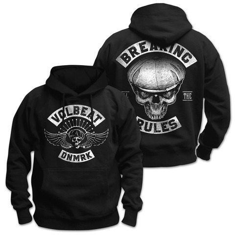 √Breaking All The Rules von Volbeat - Hood sweater jetzt im Volbeat Shop