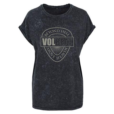 √Beyond Heaven Above Hell von Volbeat - Girlie Shirt jetzt im Volbeat Shop