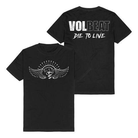 √Die To Live Logo von Volbeat - T-Shirt jetzt im Volbeat Shop