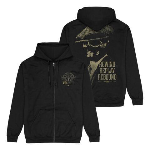 √RRR Skull von Volbeat - Hooded jacket jetzt im Volbeat Shop