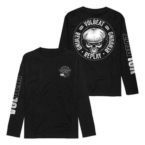 RRR Badge von Volbeat - Longsleeve jetzt im Volbeat Shop