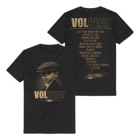 Tracklist von Volbeat - T-Shirt jetzt im Volbeat Shop