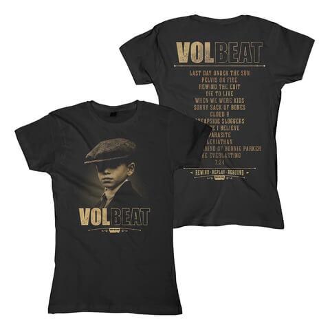 Tracklist von Volbeat - Girlie Shirt jetzt im Volbeat Shop